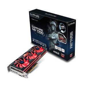 CARTE GRAPHIQUE INTERNE Sapphire AMD Radeon HD7990 6Go GDDR5