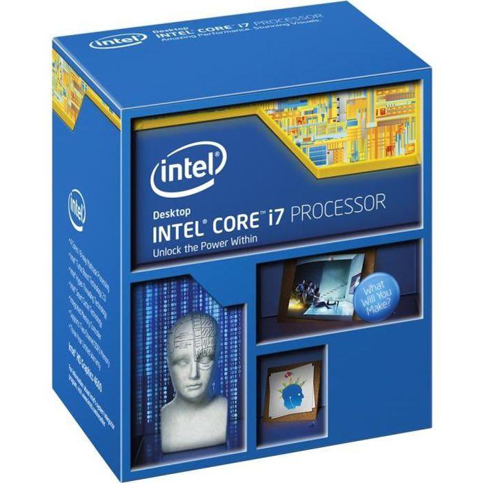 PROCESSEUR Intel Core i7-4790K Haswell    BX80646I74790K