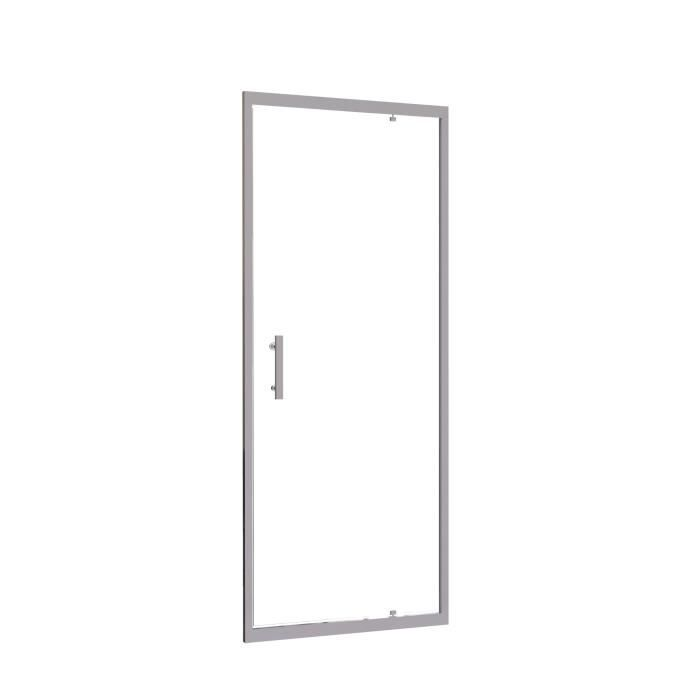 paroi de douche pivotante ekla 6mm 90cm achat vente porte de douche fa ade pivotante ekla. Black Bedroom Furniture Sets. Home Design Ideas