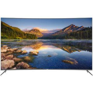 Téléviseur LED HAIER LE55Q6500U  TV LED 4K UHD incurvée 140 cm (5