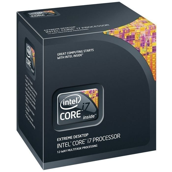 PROCESSEUR Intel Core i7 Extreme Edition 990X Bloomfield 6 Co