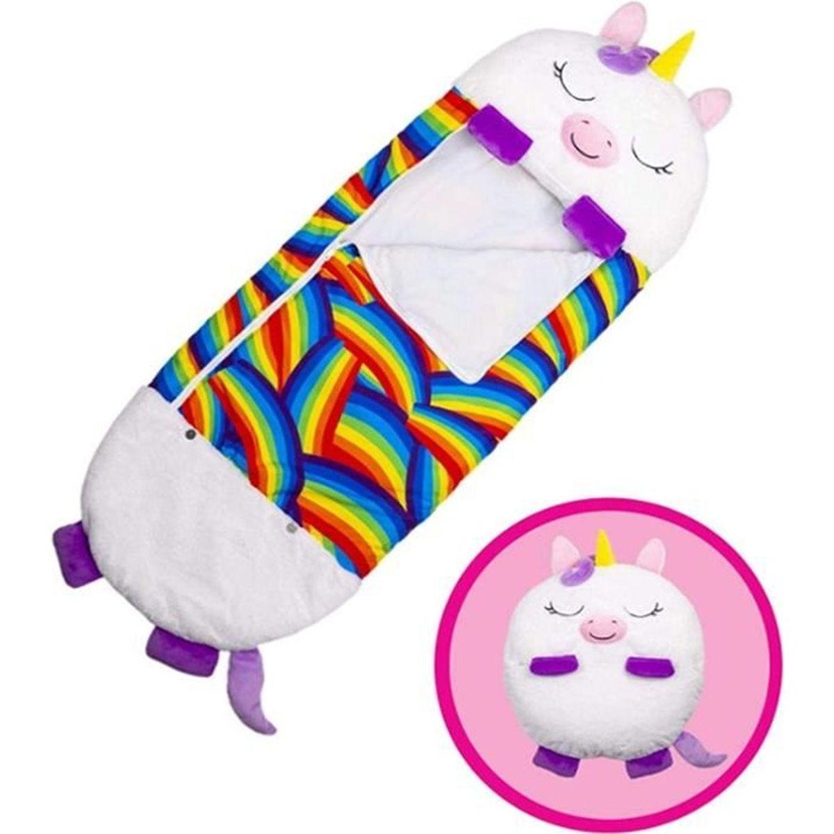 Nuvx Happy Nappers Grand coussin de jeu et sac de couchage pour enfants Sac de couchage pliable et doux Pour les enfants