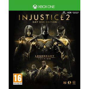 JEU XBOX ONE Injustice 2: Legendary Edition - Day One Edition J