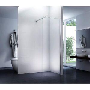 CABINE DE DOUCHE écran dans une douche à flanc de verre cabine de d