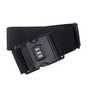 Réglable verrouillable bagages sangle serrure combinaison boucle de ceinture valise forte