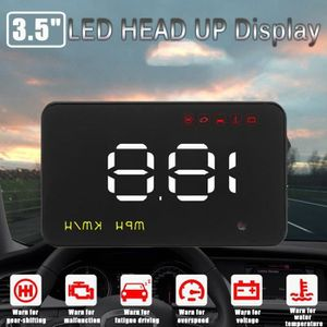AFFICHAGE PARE-BRISE 3.5 Pouces Auto HUD Head Up Display OBD GPS Univer