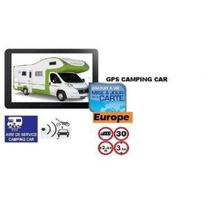 CAMPING-CAR GPS ROCKSTARS CAMPING CAR 2020  7 POUCES EUROPE GR