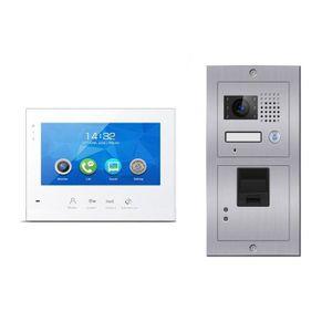 INTERPHONE - VISIOPHONE Portier vidéo biométrique E601-B