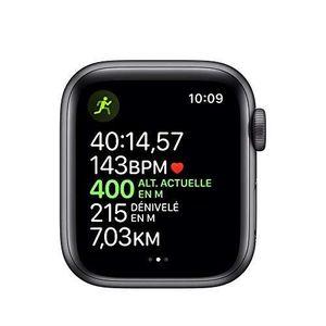 Montre connectée sport AppleWatch Series5 (GPS + Cellular, 40 mm) Boîti
