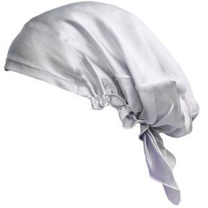 G/én/érique Femme Bonnet Chapeau Bonnet De Sommeil Nuit Coiffure de Soin Cheveux en 100/% Soie