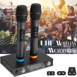 MICROPHONE - ACCESSOIRE TEMPSA Microphone Système Récepteur + 2Pcs Micros