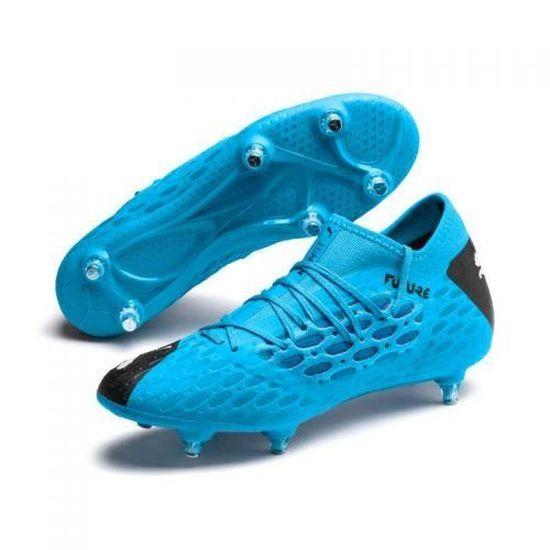 PUMA - Chaussure de football Future 5.3 Netfit SG Puma - (bleu ...