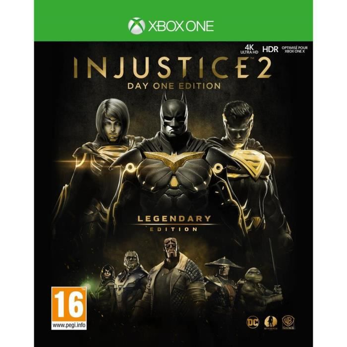 Injustice 2: Legendary Edition - Day One Edition Jeu Xbox One