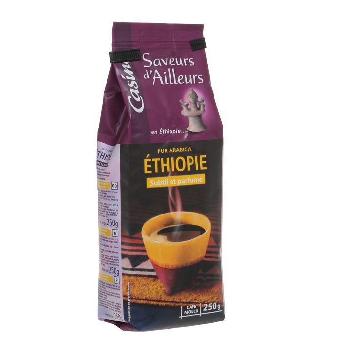 CASINO Café Pur Arabica Ethiopie 250g