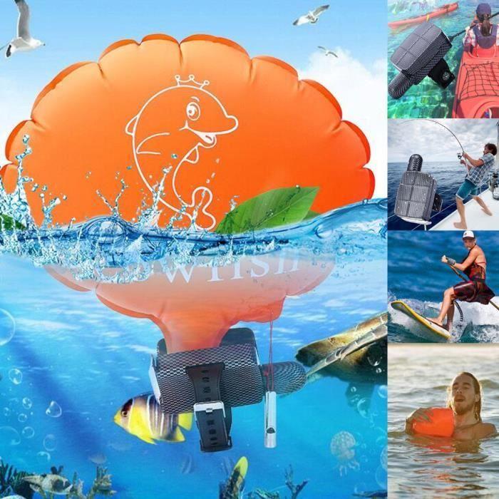 Le coussin gonflable d'auto-assistance de dispositif de flottaison de secours de bracelet empêche la noyade Accessoires de piscine
