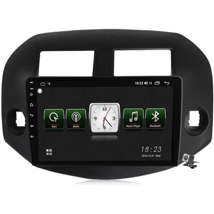 Buladala An oid 10 9 Pouces Stereo Multimedia GPS Navigation pour Toyota RAV4 3 XA30 2005-2013 avec FM RDS Autoradio, Soutient D60