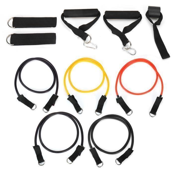 Bande d'extension Elastique Fitness Corde de Tension Extensible de Musculation Yoga Physique Exerce 100LB