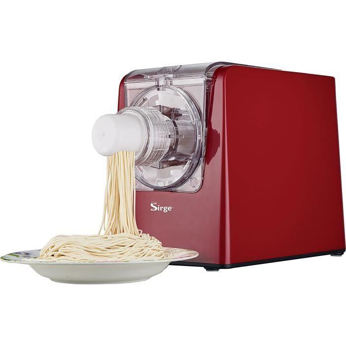 Sirge PATAMAGIC Machine pâtes automatique pour faire des pâtes fraîches à la maison 300 Watt - 14 types de pâtes + Ravioli - jusqu'à