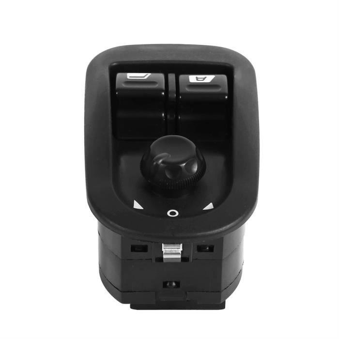 Interrupteur de lève-vitre électrique pour 206, bouton de lève-vitre électrique interrupteur de commande de rétroviseur