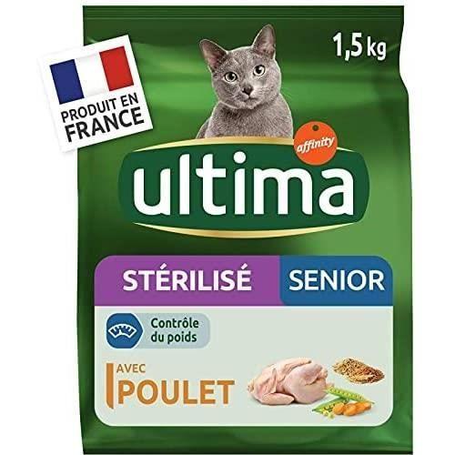 Animalerie Ultima - Chat Sterilises 1.5Kg - Lot De 3[106]