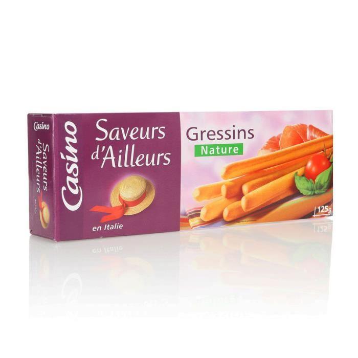 Biscuits salés Gressin - 125 g