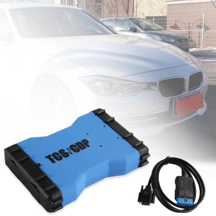 véhicule 2014.r 2 diagnostic unité outil tsc 150e cdp bluetooth auto voiture professionnel avec la boîte