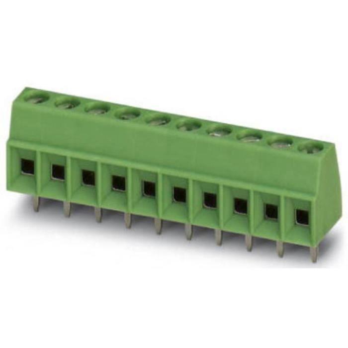 Borne pour circuits imprimés Phoenix Contact MKDS 1-13-3,5 1751358 1.5 mm² Nombre de pôles 13 vert 1 pc(s) - CONNECTEUR SECTEUR