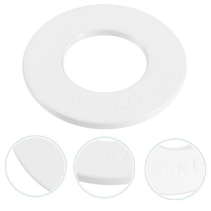 1 pc Barbell Plate Portable Pratique Durable Pièces Accessoire Fourniture Pour La Maison Gym BARRE - HALTERE - POIDS