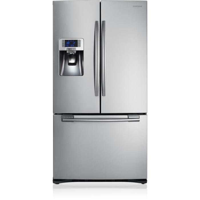 SAMSUNG Réfrigérateur américain RFG23RESL 520L Froid ventilé A+