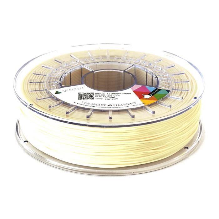 Smartfil Filament Abs Fp 1.75mm Naturel 750g