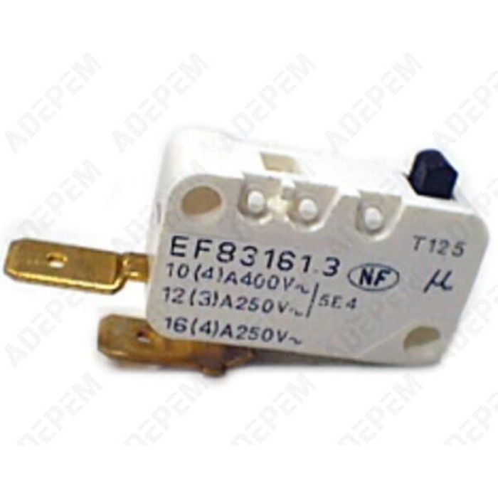 Microswitch 2 cosses pour Barbecue Moulinex, Four Smeg, Four Tefal, Barbecue Tefal, Rotissoire Tefal, Wok Tefal - 3665392107910