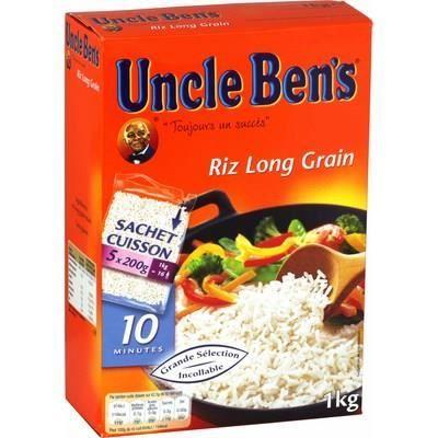 MARS PF FRANCE Riz long grain sachets cuisson Uncle Ben's - 5 x 200 g