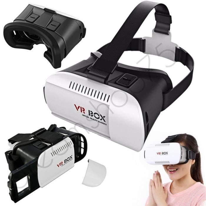 casque r alit virtuelle 3d vr samsung galaxy s5 achat. Black Bedroom Furniture Sets. Home Design Ideas