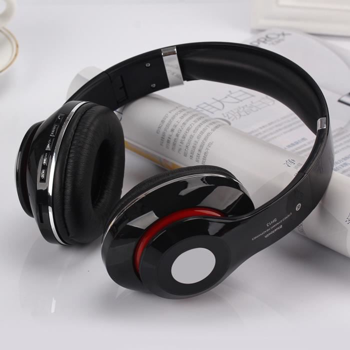 bluetooth casque couteurs sport earphone headphone sans fil st r o casque couteur audio. Black Bedroom Furniture Sets. Home Design Ideas