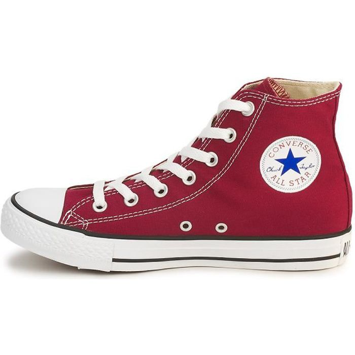 converse rouge adulte