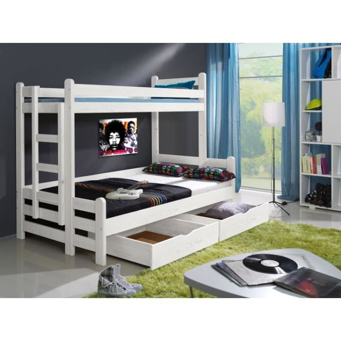 lit superpos enfant timeo achat vente lits superpos s cdiscount. Black Bedroom Furniture Sets. Home Design Ideas