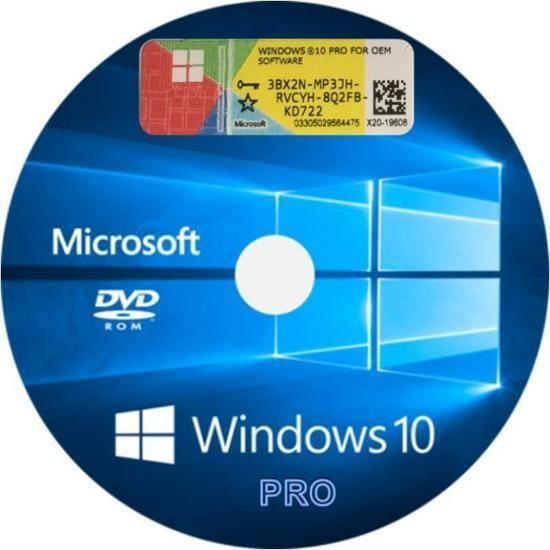 ANTIVIRUS DVD WINDOWS 10 PRO 32 BITS & 64BITS