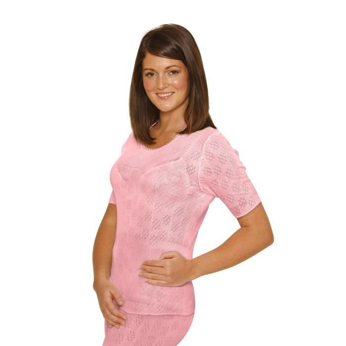 T-SHIRT OCTAVE® sous-vêtements thermiques pour femme: t-sh