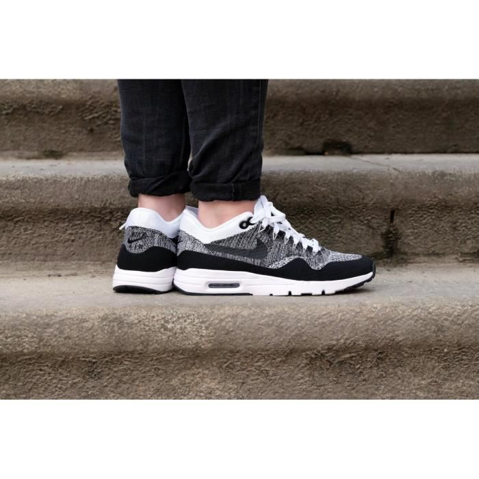 basket nike air max 1 ultra flyknit grey