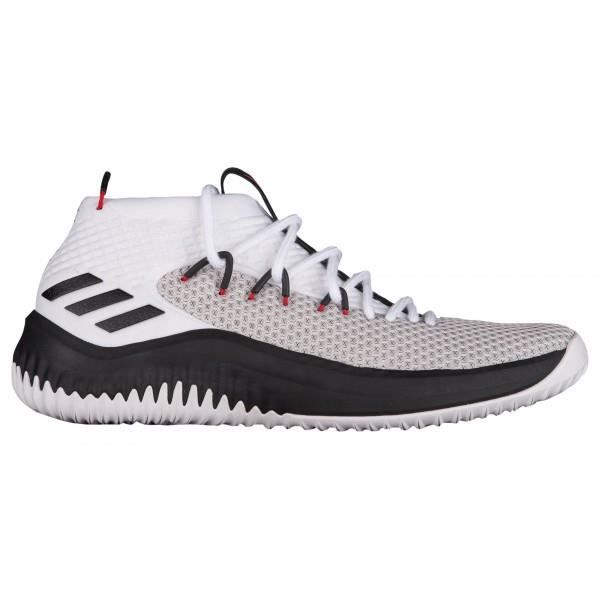 Chaussures de Basketball adidas Dame 4 blanc pour homme