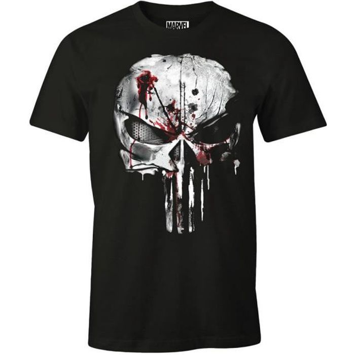 2017 The Punisher T-shirt Nouveau Crâne Daredevil T-shirt Cosplay Super-Héros T-Shirt