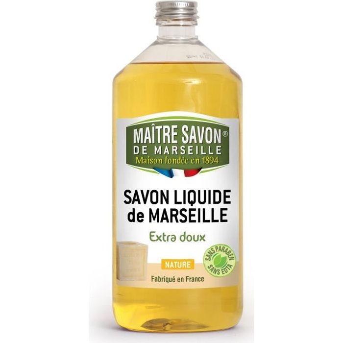 SAVON - SYNDETS MAITRE SAVON Savon liquide Nature - 1 L
