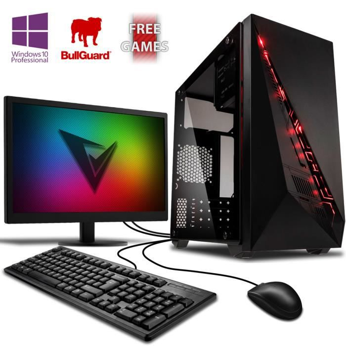 vibox vision pack 2sw pc gamer amd 2 core radeon 8370d graphiques int gr s gaming. Black Bedroom Furniture Sets. Home Design Ideas
