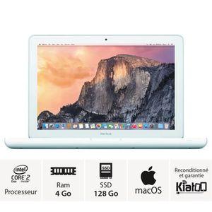PC RECONDITIONNÉ macbook apple 13 pouces intel core 2 duo 4go ram 1