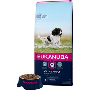 CROQUETTES EUKANUBA Croquettes super premium pour chiens adul