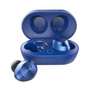 CASQUE - ÉCOUTEURS Bluetooth 5.0 vrai casque sans fil Sport In-ear ca