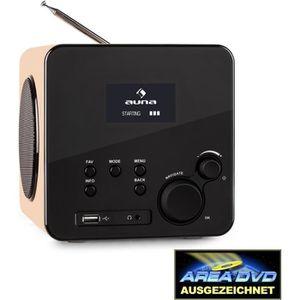 RADIO CD CASSETTE auna Radio Gaga - Radio internet WiFi-ethernet, tu