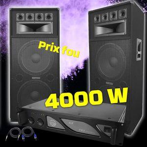 PACK SONO Pack sono COMPLET avec amplificateur PRO 2 Enceint