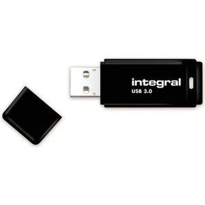 CLÉ USB INTEGRAL - Clé USB - 64 Go - USB 3.0 - Noir