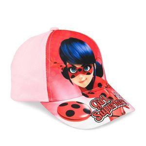 Zag Miraculous//Ladybug Hiver Casquette Rouge